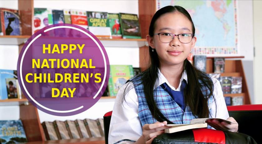 HAPPY NATIONAL CHILDREN'S DAY