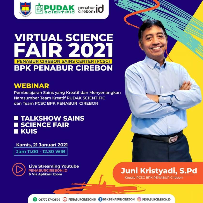 VIRTUAL SCIENCE FAIR 2021 (PCSC) BPK PENABUR CIREBON